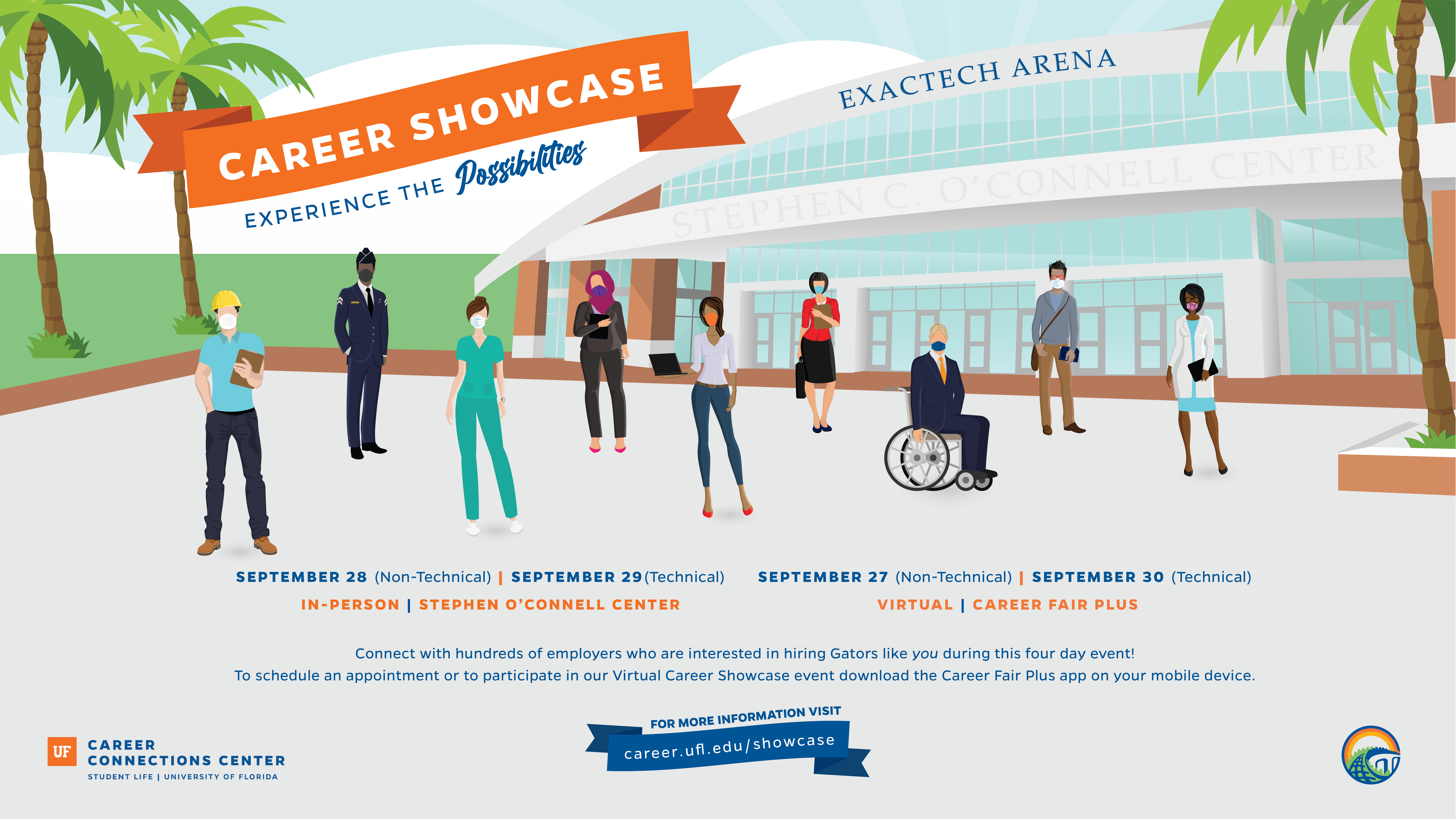 UF's largest career fair Sept. 27-30 will put over 250 employers at students' fingertips