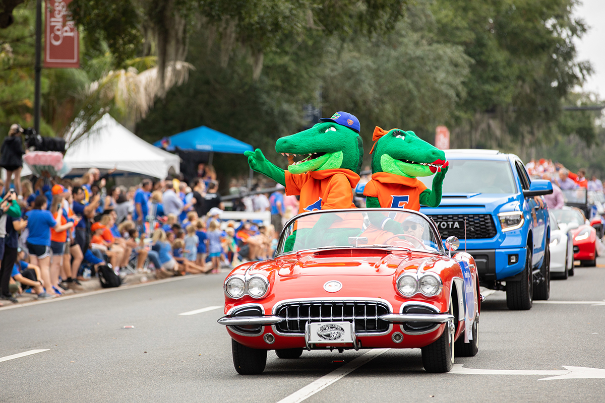 Who makes homecoming happen at UF? Meet the students behind the traditions